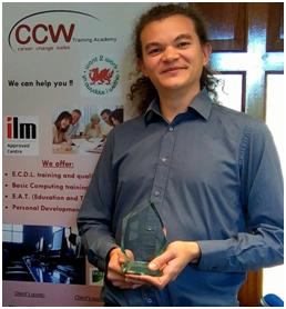 Dan with Bronze Award