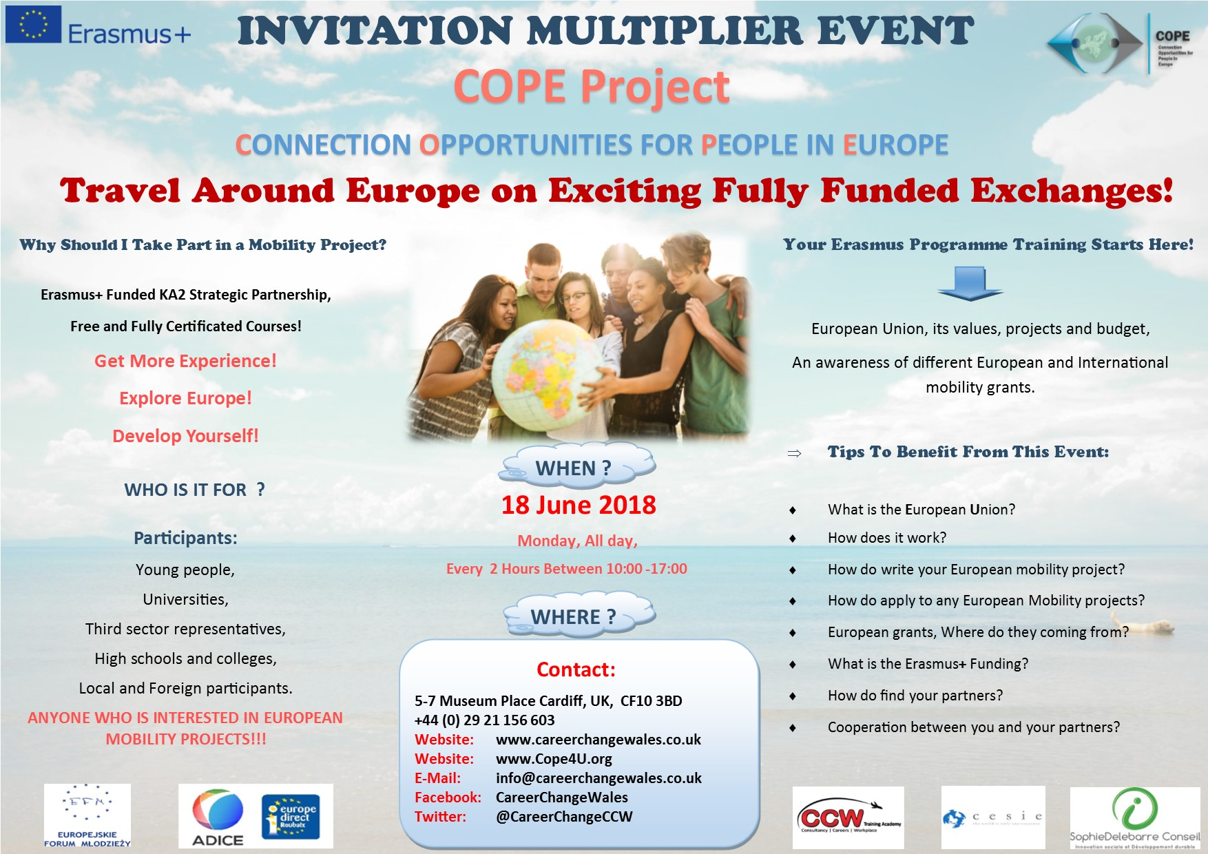 COPE Erasmus Project Multiplier Event